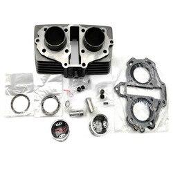 Hohe Qualität Motorrad Zylinder Kit 44MM Passt Für Honda CB125 T TWIN CB125T CBT125 CBT 125 CB 125 T motor Teil