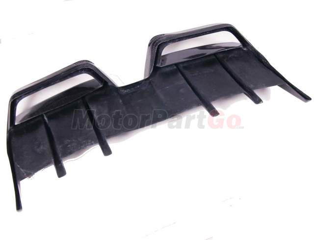Renntech Style Carbon Fiber Rear Bumper Lip Spoiler Diffuser For Mercedes BENZ SLS R197 AMG  bodykit  M186 4