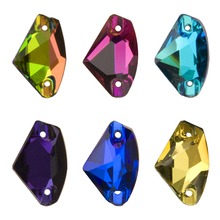 YANRUO 3256 Galactic AAAAA Sewn Stones Flatback Strass Sew On Crystals Craft Gems Glass Rhinestones For Clothes Accessories