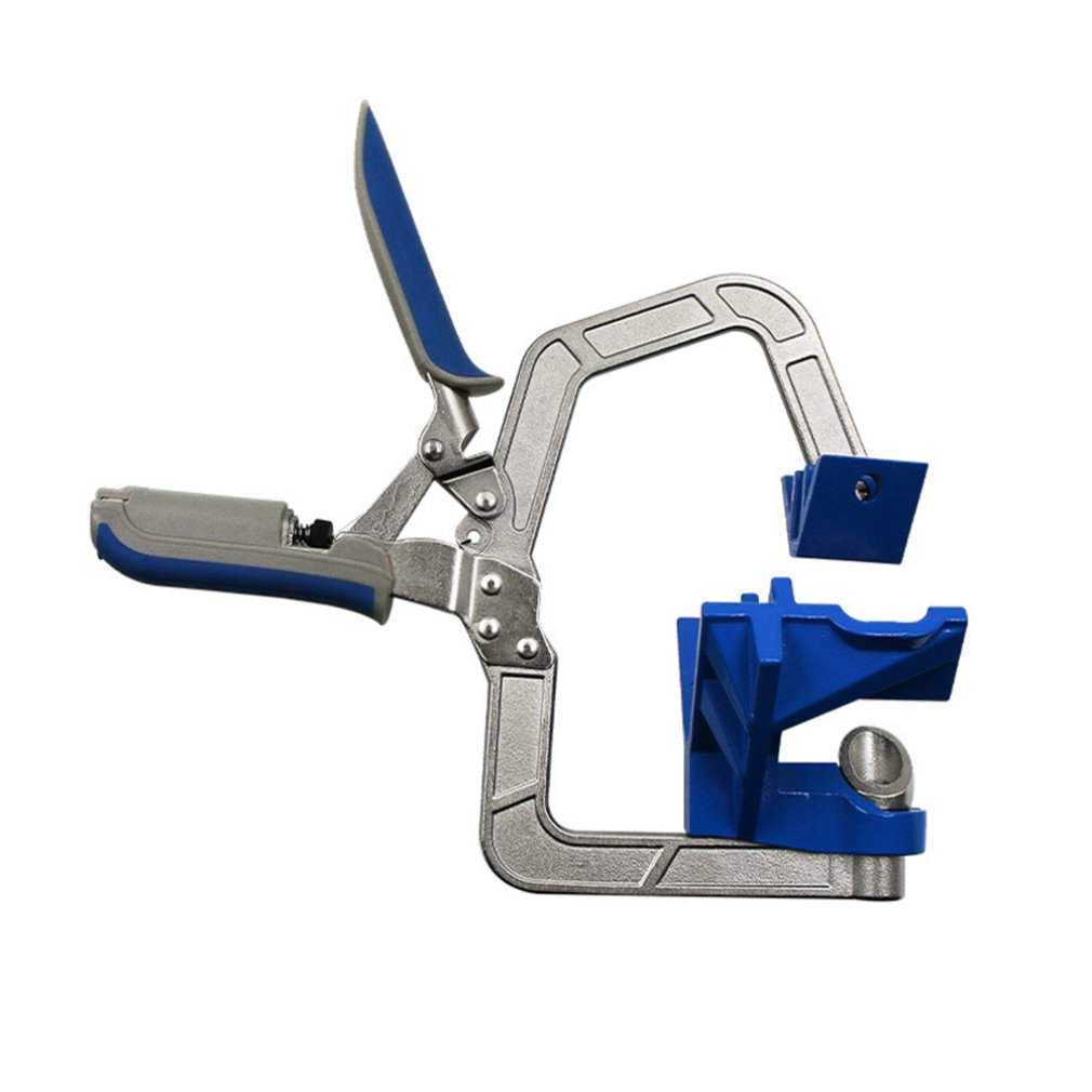 1 Pcs 90 ° Right Angle Clamp Multifunctional Angle Fixed Hole Punch Woodworking Right Angle Fixing Tool