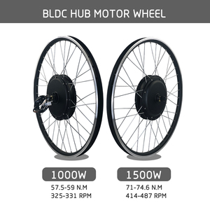 Image 3 - SOMEDAY Electric Bike Conversion Kit 48V1000W 1500W Rear Cassette 20 28 inch 700C Hub Motor Wheel for Bicycle