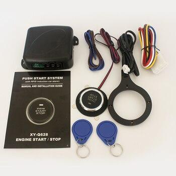 Cerradura de coche, llave de arranque RFID, sistema de llave de arranque del motor, 12V, Encendido automático