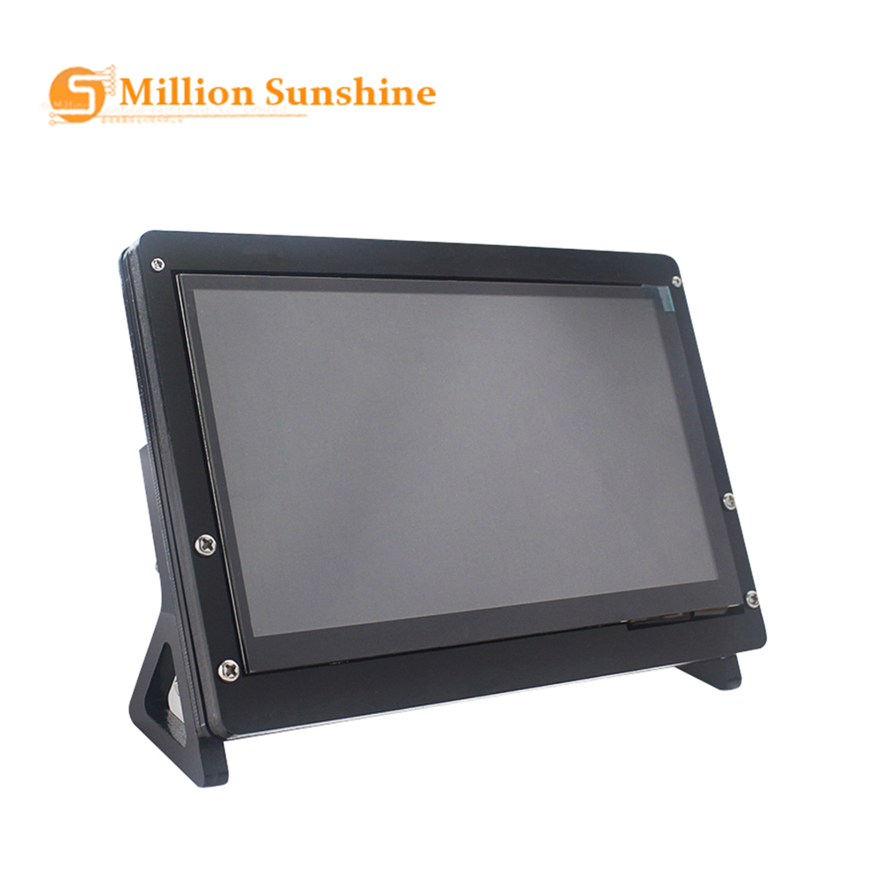 7 Inch LCD Display Touch Screen Housing Bracket For Raspberry Pi 4/3B+/3B Acrylic Holder For 7 Inch Raspberry Pi LCD RPI136