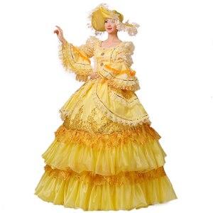Бальное платье Рококо барокко Мария-Антуанетта, бальное платье 18-го века, эпохи Возрождения, исторический период, викторианское платье для ...