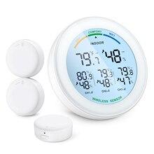 Wireless Sensor Hygrometer-Thermometer Digital Outdoor Lcd-Display