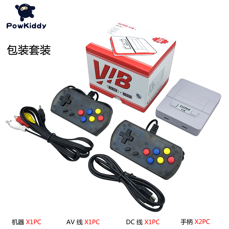 Super VIB TV Games Mini FC TV Game Console 8 Bit Retro Video Game Console Built-In 169 Games Handheld Gaming Player Best Gift 1