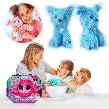 Caja ciega sorpresa, oreja grande, mini Gato de baño de animales, perro, conejo, juguete de peluche, muñeco de color, regalo de compañero para niños