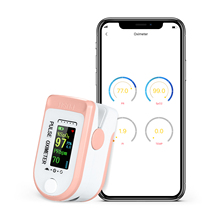Pulse-Oximeter Saturation Monitor Blood-Oxygen Fingertip Oximetro-De-Dedo Bluetooth Spo2
