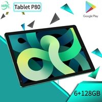Tablet Android 6GB 128GB Tablet Tablet PC da 8 pollici GPS 10 Core tablete classe online telefonata tablette pad pro Tablet