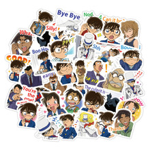 40pcs/Lot Anime Sticker Detective Conan Cute Sticker Scrapbooking Stickers /decorative Sticker /DIY Craft Photo Albums