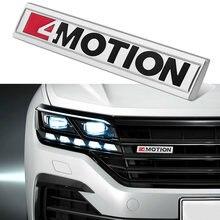 Pegatina embellecedora de logotipo para Volkswagen VW Tiguan Touran, Phaeton, artefacto, Scirocco Atlas, rejilla de maletero, 4 Motion 4, para Estilismo de coche
