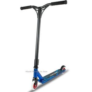 Image 2 - Trotinette extremo profissional com rodas do plutônio de 100mm, trotinette de alta velocidade da ação do trotinette do dublê