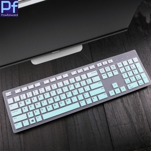 For Dell Inspiron Aio Kb216 Kb216P Kb216T KM636 All-In-One Pc Desktop Pc Waterproof Dustproof Protector Skin Keyboard Cover(China)
