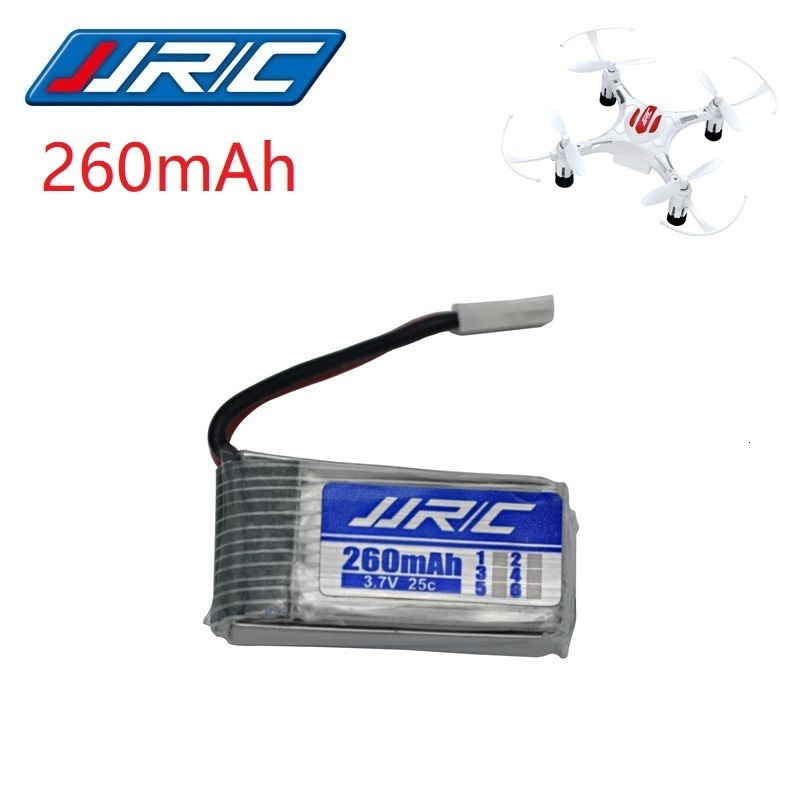 JJRC H8 Original Battery 3.7V 260mAh Lipo Battery For H8 JJRC H8 Mini RC Quadcopter Drone Part Wholesale JJRC Battery