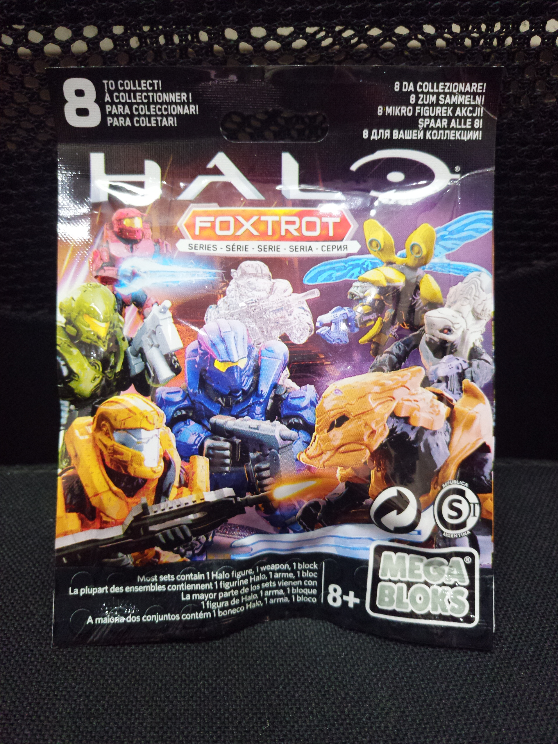 LOT OF 9 SEALED BLIND BAGS HALO FOXTROT SERIES CNC84