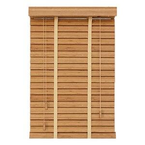Image 2 - Бамбуковые подъемные жалюзи 35 мм, жалюзи индивидуального размера для украшения дома