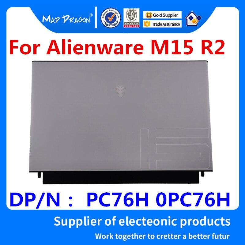MAD DRAGON marque ordinateur portable nouveau blanc LCD couverture supérieure LCD couverture arrière Tobii Eye Tracker assemblage une coque pour Dell Alienware M15 R2 EDQ51 PC76H 0PC76H AM2KH000C60