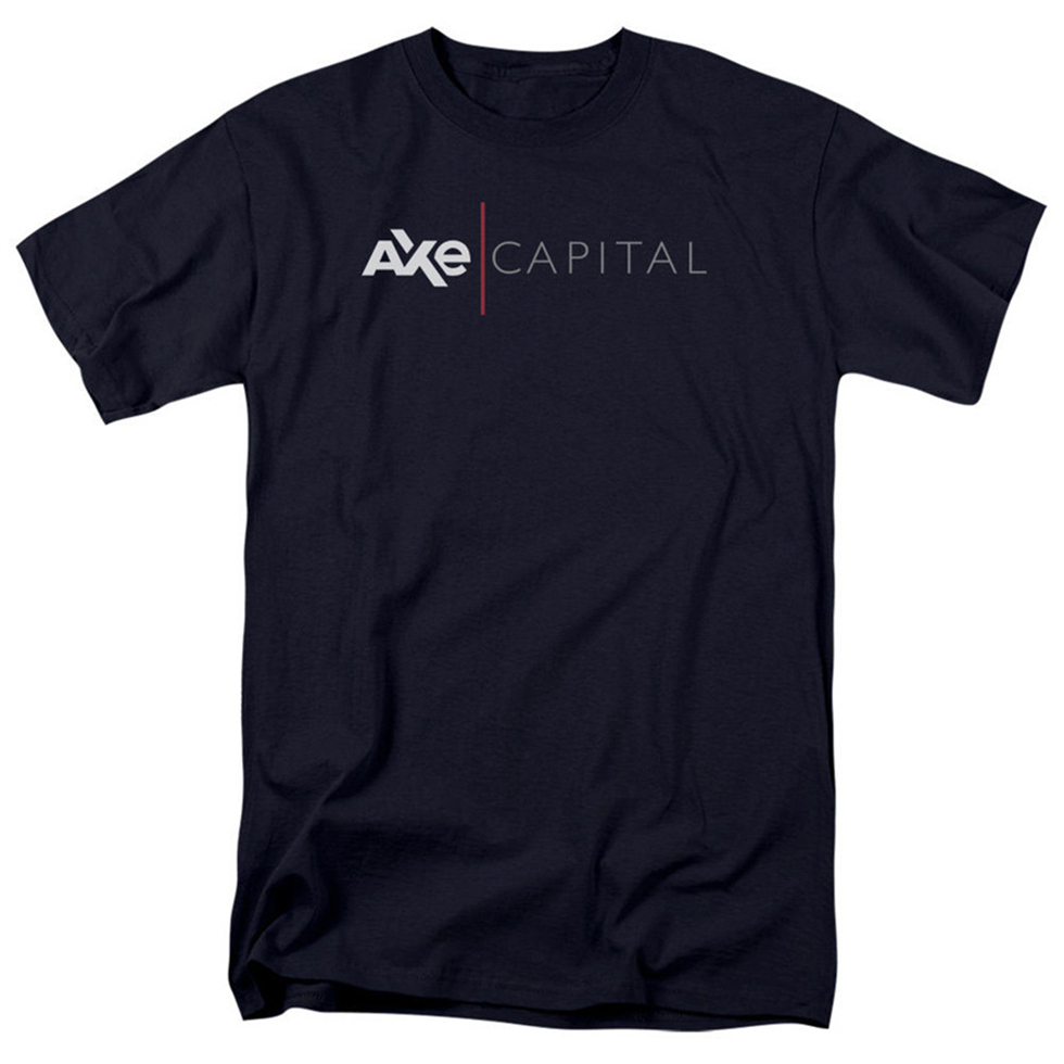 Billions Tv Show Axe Capital Corporate Logo Licensed Adult T-Shirt All Sizes Personality Custom Tee Shirt