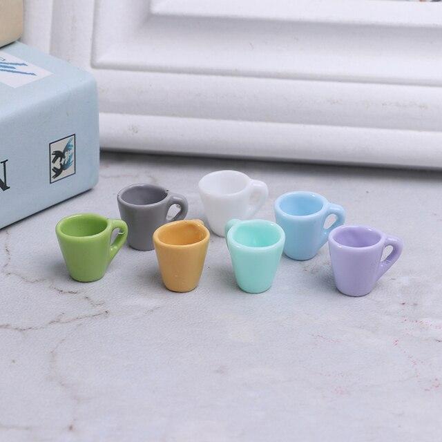 2X Miniature Dollhouse Coffee Cup Kitchen Room Food Drink Decor Mini World PLCA