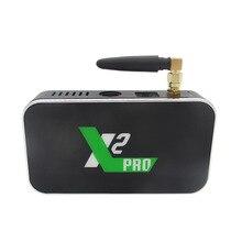 X2 Pro Android tv Box 4 Гб ram 32 Гб Smart tv Android 9,0 Amlogic S905X2 X2 cube 2 Гб 16 Гб телеприставка 2,4G/5G WiFi 1000M 4K медиа