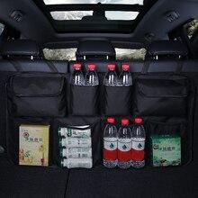 Tylna torba na przechowywanie z tyłu samochodu Multi z kieszeniami do zawieszenia Organizer torba do bagażnika Auto układanie Tidying akcesoria do wnętrz