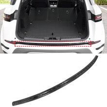 Для Range Rover Evoque(L551) нержавеющая сталь черный край заднего бампера защитная пластина отделка авто аксессуары