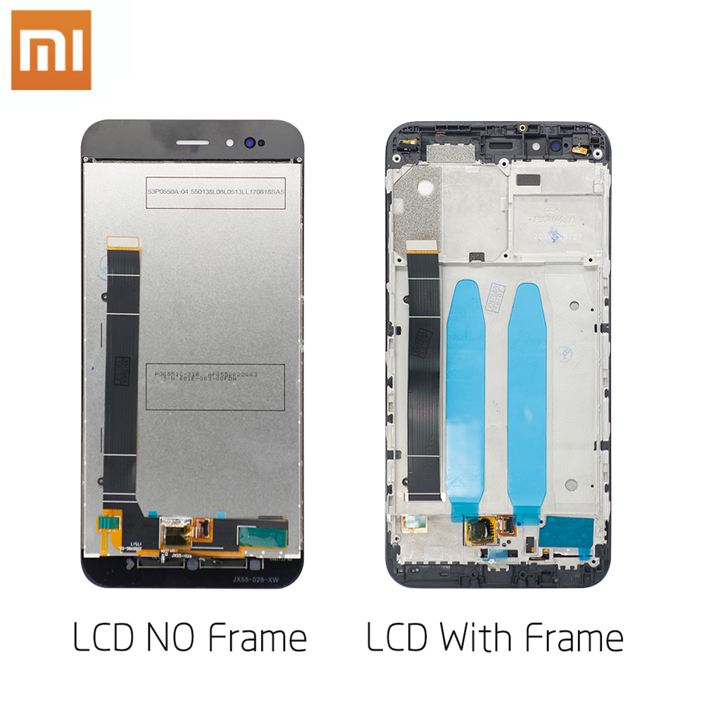 Image 2 - Xiao Mi LCD Touch Screen with Frame Original Display For Xiaomi  Mi 5X / Mi A1 5.5 inch Replacement LCDs Display For Mi5X MiA1Mobile  Phone LCD Screens