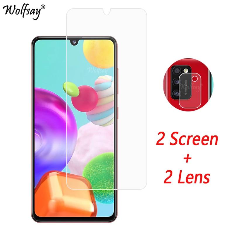 Camera Lens Protector For Samsung Galaxy A41 Screen Protector Tempered Glass For Galaxy A41 Camera Glass For Samsung A41 Glass