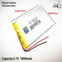 Litro bateria de energia Bom Qulity 3.7 V  6000mAH 3090130 bateria De Polímero de iões de lítio/BANCO de bateria Li-ion para tablet pc  GPS  mp3  mp4