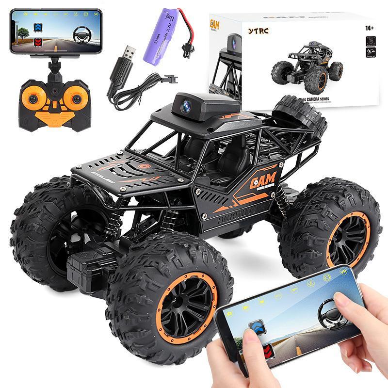 Беспроводной Rc брелок для автомобильных ключей, игрушка, Wi-Fi, Камера внедорожные мобильный телефон HD видео черный пульт дистанционного упра...