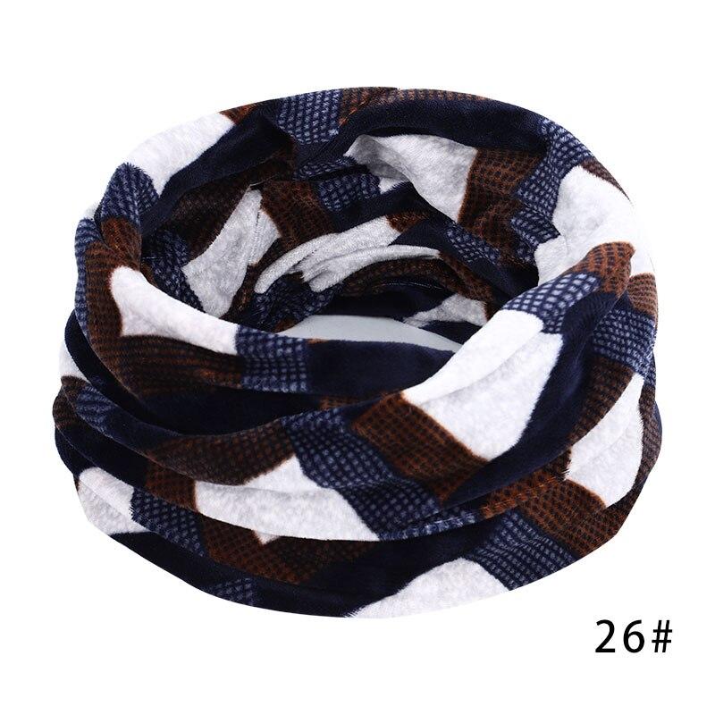 Новинка, осенне-зимний женский шарф с принтом для женщин, модный бархатный тканевый шарф, мягкий удобный женский винтажный шарф - Цвет: 26