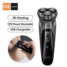 Xiaomi Electric Shaver razor Rechargeable Flex Razor 3 Head Dry Shaver Wet Shaving Machine Beard Trimmer Washable Dual Blade 5 цена и фото