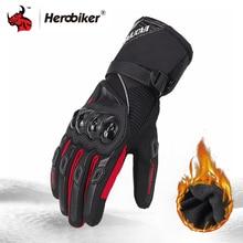 Winter Motorcycle Gloves Windproof Waterproof Guantes Moto Men Motorbike Riding Gloves Touch Screen Moto Motocross Gloves