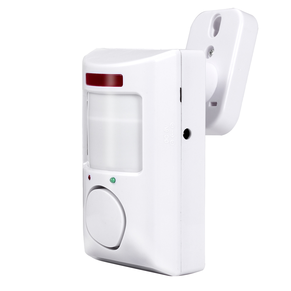 Security & Protection ... Security Alarm ... 32813119488 ... 2 ... Towode Portable 110dB PIR Motion Detector Infrared Anti-theft Motion Detector Home Security Alarm system+2 controllers ...