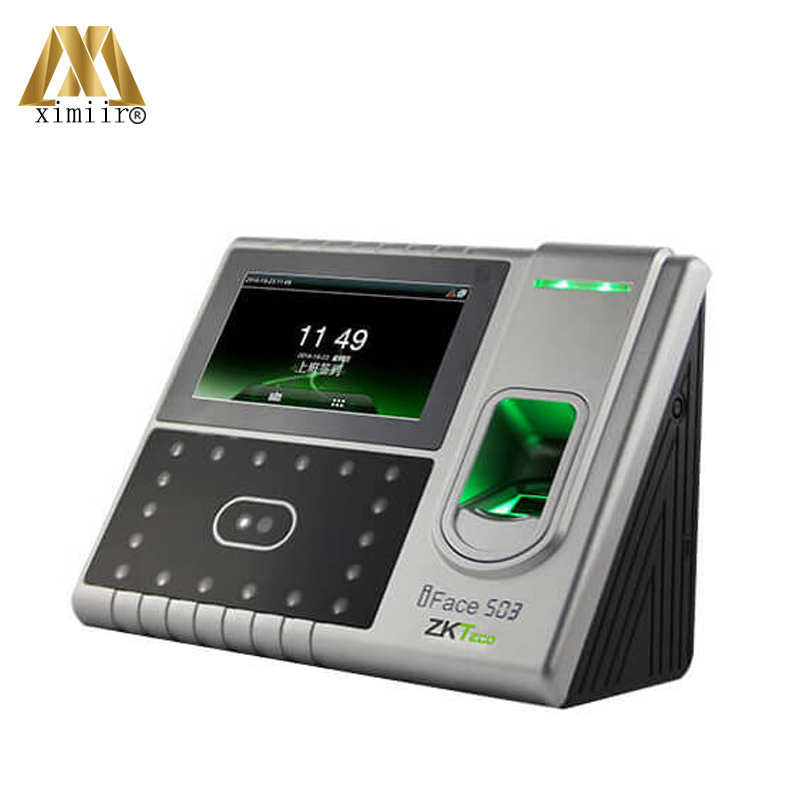 4.3' TFT Touch Screen Facial Recognition Biometric Fingerprint AReader Iface503 Face Time Attendance Access Control System