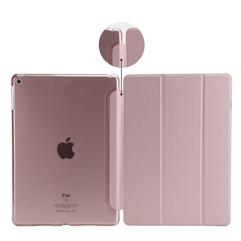 For Apple IPad Mini 1 2 3 Leather Soft Cover Case Ultra Slim Smart Flip Case Shockproof Drop Resistance Anti-Dust Cover Case