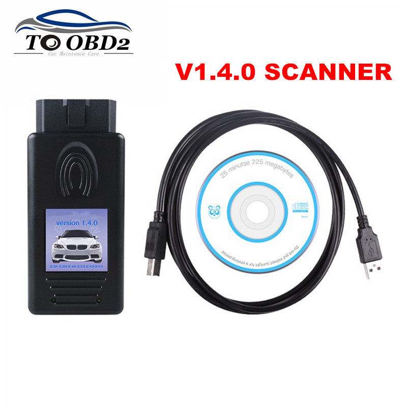 New OBD2 Code Reader For BMW Scanner 1.4.0 Unlock Version For BMW Series Version 1.4 Auto Diagnostic Interface(China)