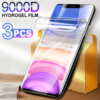 Hydrogel Film Screen Protector For iPhone 11 12 Pro X Xr XS Max Soft Protective Film For iPhone SE 6 7 8 Plus Screen protector