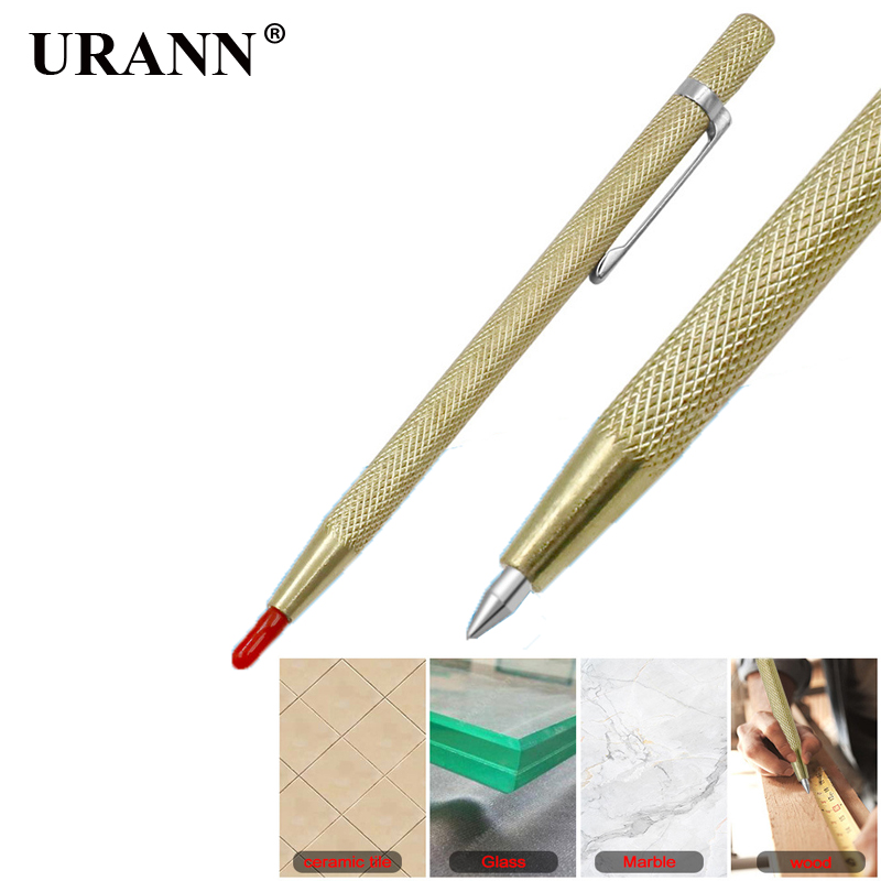 URANN Steel Tip Scriber Marking Etching Pen Marking Tools For Ceramics Glass Shell Metal Lettering