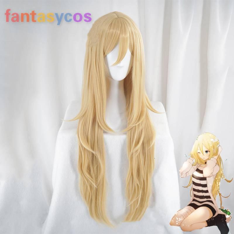 Anjos da morte rachel gardner cosplay peruca perucas de jogo traje trajes de halloween cabelo + peruca livre boné