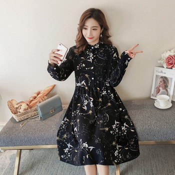 Spring And Autumn Maternity Clothes Clothing New Style Fashion Skirt Korean-style Dress
