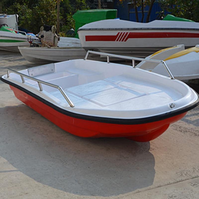 Double Deck Fiberglass Lure Boat FRP Fishing Boat High-speed Speedboat Professional Sports Boat Breeding Self-drain