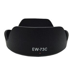 Image 3 - 10pcs EW 54 EW 60C EW 60CII EW 63C EW 73B EW 73C EW 78D EW 83E EW 83H camera Lens Hood for canon  lens camera