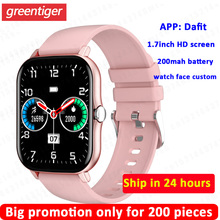 KT48 Smart Watch Men Heart Rate Monitor Blood Pressure Oxygen Breath Training IP68 Women Smartwatch Sports Watch VS P8 plus