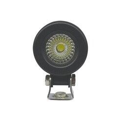 Equipo de iluminación de luz led de trabajo de 2 pulgadas redondo de 10W 15W Faro de vehículo faro de motocicleta reacondicionamiento Faro de vehículo
