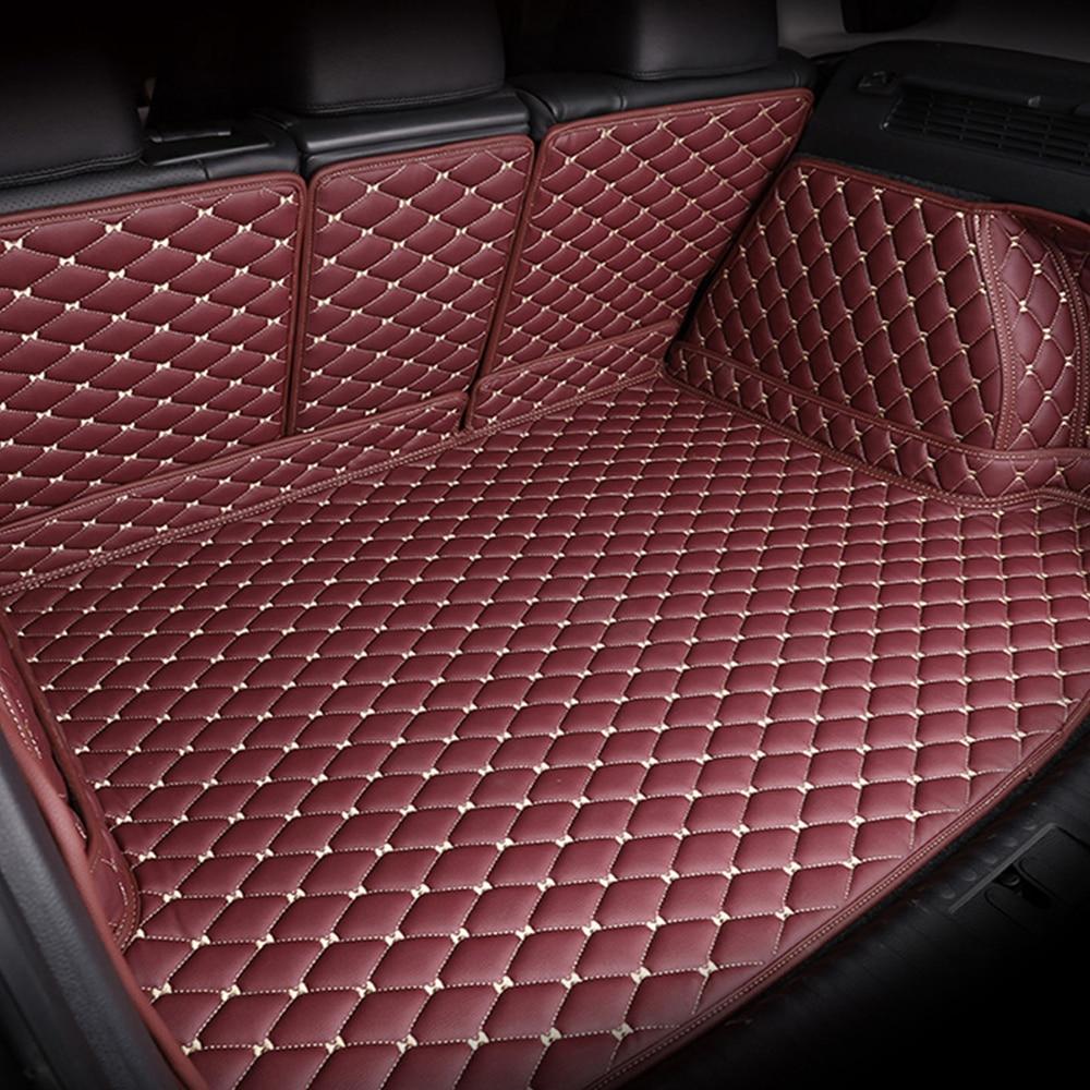 Custom fit tappeti bagagliaio di Un'auto cargo Liner per Land Rover Range Rover L322 L405 6D heavy duty car styling tappeto piano liners (2002-pr