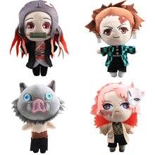 9 stile 20cm Dämon Slayer: kimetsu keine Yaiba Douma Tomioka Giyu Hashibira Inosuke Plüsch Spielzeug Puppe Peluche Großen Größe Kinder Geschenk