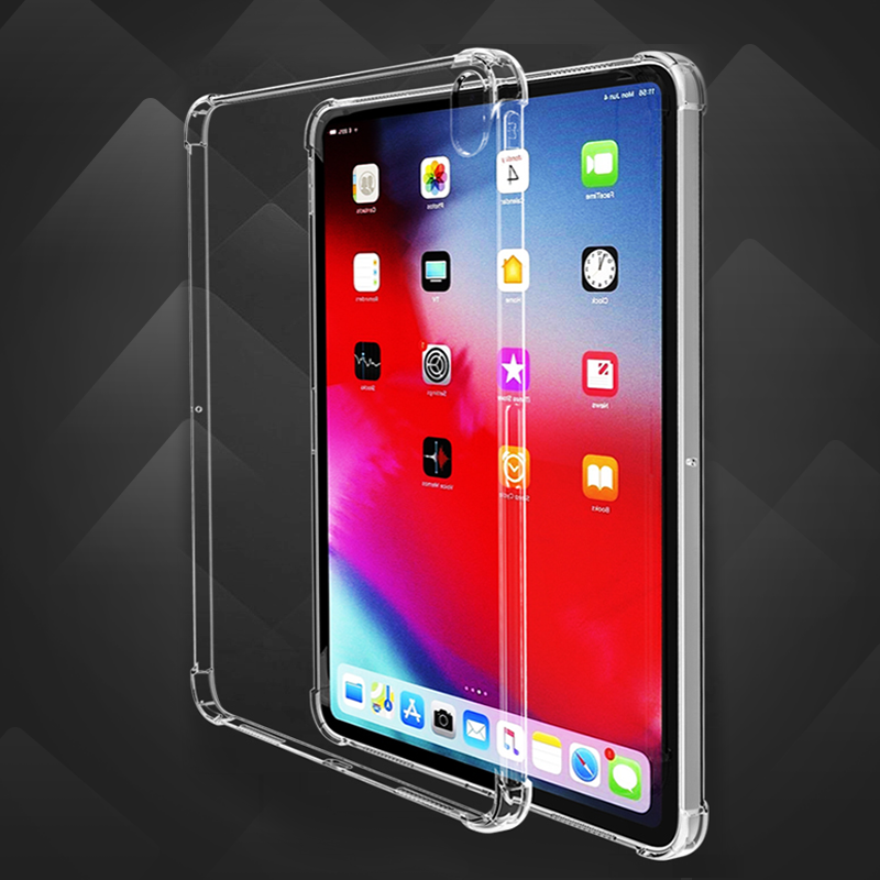 Clear Case for iPad 10 2 case Anti fall soft TPU silicone tablet cover for Apple.png