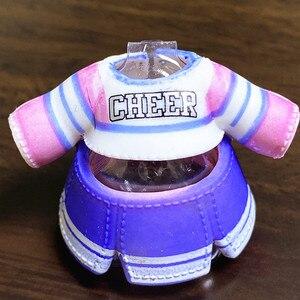 Оригинальная Одежда для кукол «Большая сестра» 8 см, костюмы, детские игрушки для девочек, подарок на день рождения, розничная продажа, 1 предмет, можно выбрать аксессуар для куклы