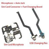 Neue Sim Card Reader Connector Board Für Xiaomi blackshark Schwarz Shark 2 Lade Port USB Dock Lade Flex Kabel Mit mic